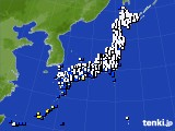 2018年10月05日のアメダス(風向・風速)