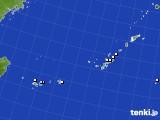 沖縄地方のアメダス実況(降水量)(2018年10月11日)