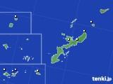2018年10月11日の沖縄県のアメダス(降水量)