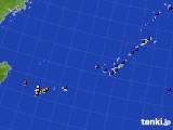 沖縄地方のアメダス実況(日照時間)(2018年10月15日)