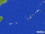 沖縄地方のアメダス実況(降水量)(2018年10月24日)