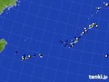 2018年10月30日の沖縄地方のアメダス(風向・風速)