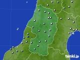 2018年11月21日の山形県のアメダス(降水量)