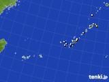 2018年12月06日の沖縄地方のアメダス(降水量)