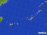 2018年12月09日の沖縄地方のアメダス(降水量)