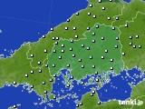 2018年12月16日の広島県のアメダス(降水量)