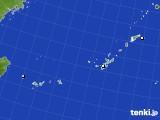 2018年12月29日の沖縄地方のアメダス(降水量)