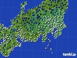 2018年12月30日の関東・甲信地方のアメダス(気温)