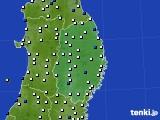 2019年01月01日の岩手県のアメダス(風向・風速)