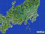 2019年01月02日の関東・甲信地方のアメダス(気温)