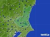 2019年01月03日の茨城県のアメダス(風向・風速)