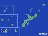 沖縄県のアメダス実況(降水量)(2019年01月08日)