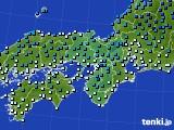 2019年01月09日の近畿地方のアメダス(気温)