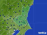 2019年01月09日の茨城県のアメダス(風向・風速)