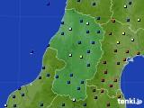 山形県のアメダス実況(日照時間)(2019年01月11日)