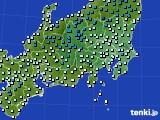 2019年01月12日の関東・甲信地方のアメダス(気温)