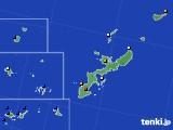 2019年01月13日の沖縄県のアメダス(日照時間)