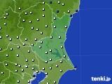 2019年01月13日の茨城県のアメダス(風向・風速)