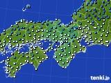 2019年01月16日の近畿地方のアメダス(気温)