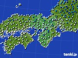 2019年01月18日の近畿地方のアメダス(気温)
