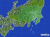 関東・甲信地方のアメダス実況(降水量)(2019年01月31日)