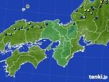 近畿地方のアメダス実況(積雪深)(2019年01月31日)