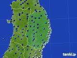 2019年01月31日の岩手県のアメダス(気温)