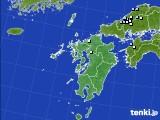 九州地方のアメダス実況(降水量)(2019年02月01日)