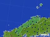 島根県のアメダス実況(日照時間)(2019年02月01日)