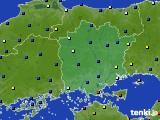 岡山県のアメダス実況(日照時間)(2019年02月01日)
