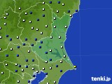 2019年02月01日の茨城県のアメダス(風向・風速)