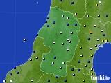 2019年02月01日の山形県のアメダス(風向・風速)