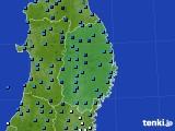 2019年02月02日の岩手県のアメダス(気温)