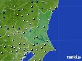 2019年02月02日の茨城県のアメダス(風向・風速)