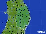 2019年02月04日の岩手県のアメダス(気温)