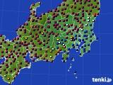 2019年02月05日の関東・甲信地方のアメダス(日照時間)