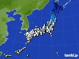 2019年02月05日のアメダス(気温)
