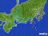 東海地方のアメダス実況(降水量)(2019年02月06日)