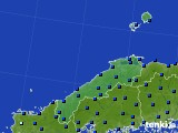 島根県のアメダス実況(日照時間)(2019年02月09日)