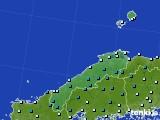 島根県のアメダス実況(気温)(2019年02月09日)