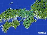 アメダス実況(気温)(2019年02月10日)