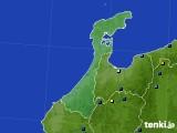 石川県のアメダス実況(積雪深)(2019年02月13日)