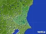 2019年02月15日の茨城県のアメダス(風向・風速)