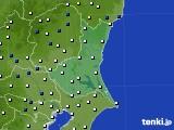 2019年02月16日の茨城県のアメダス(風向・風速)