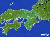 近畿地方のアメダス実況(積雪深)(2019年02月18日)