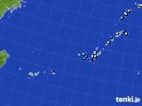 沖縄地方のアメダス実況(降水量)(2019年02月19日)