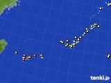 2019年02月21日の沖縄地方のアメダス(気温)