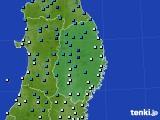 2019年02月26日の岩手県のアメダス(気温)