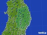 2019年02月27日の岩手県のアメダス(気温)