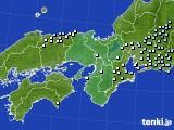近畿地方のアメダス実況(降水量)(2019年02月28日)